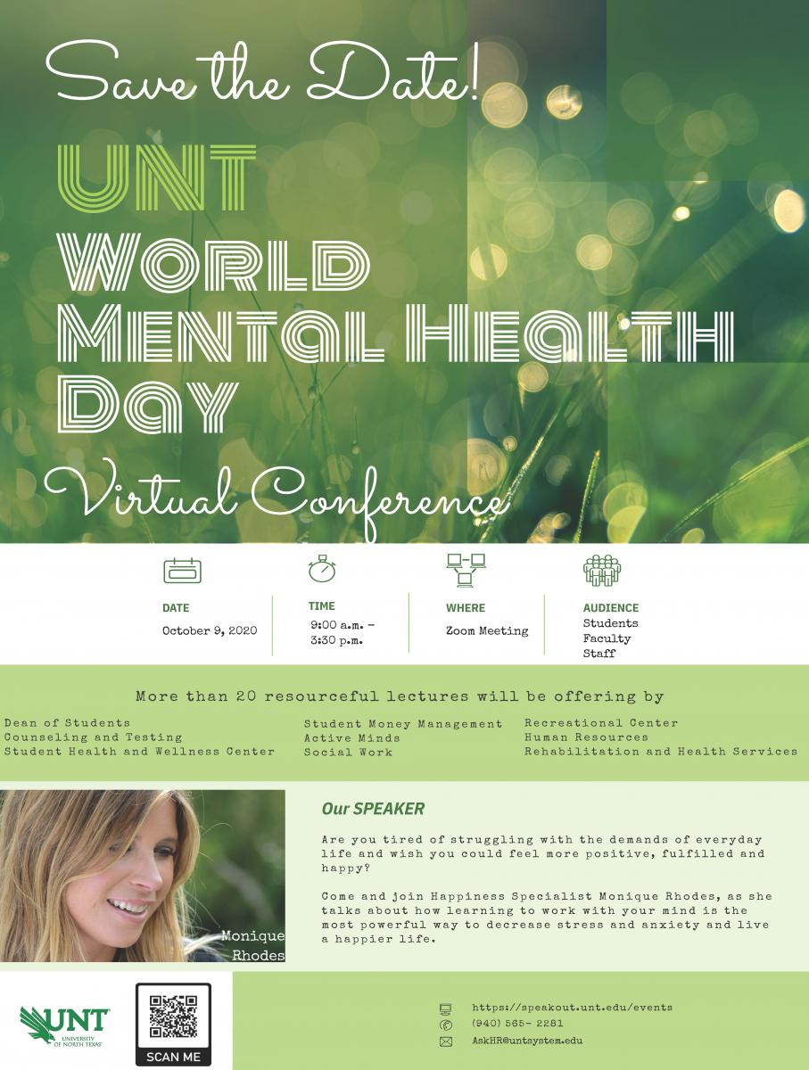 Save the Date for UNT WMHD